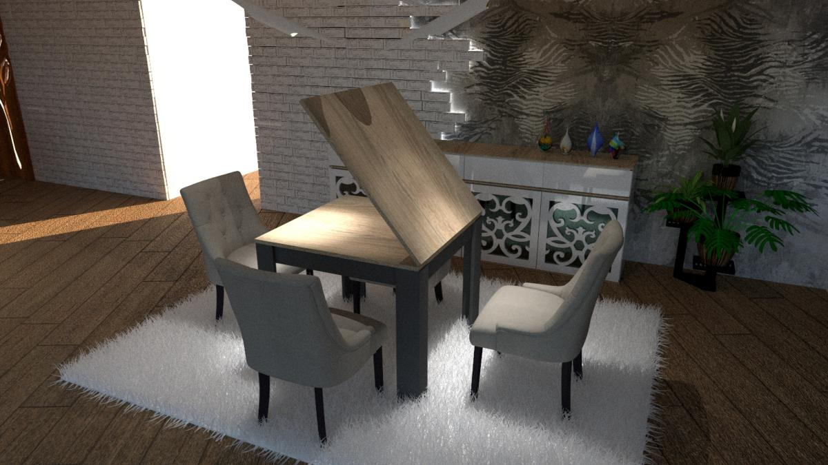 Table A Manger Carree Extensible Design Maison Design